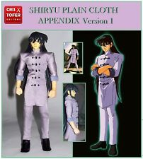SHIRYU PLAIN CLOTH APPENDIX, pour SAINT SEIYA MYTH CLOTH et tenue NEXT DIMENSION