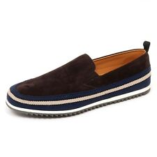 D2502 mocassino uomo CAR SHOE scarpe marrone slip on loafer shoe man