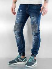 Sixth June Uomini Jeans / Jeans slim fit Destroyed Biker