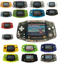 Pokemon Pikachu Game Boy Advance AGS-101 Backlight Backlit Screen GBA Console