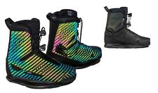 Ronix One Boot Polar Flash intuition CLOSED toe wakeboard bindings Ronix boots