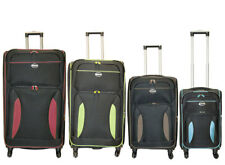 Expandable 4 Wheel Spinner Extra Strong Luggage Trolley Suitcase 32, 28, 24,20""