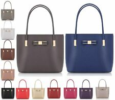Girls Ladies Womens Tote HoldAll Shopper LYDC Satchel Fashion Shoulder Handbag