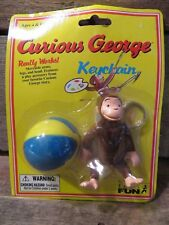 CURIOUS GEORGE Key Chain 1998 NEW