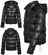 New Womens Ladies Brave Soul Quilted Puffer Padded Parka Coat Jacket Sizes 8-16