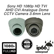 Sony 1080p HD 1080 TVI AHD CVI Analogue CCTV Dome Camera 3.6mm IR Waterproof