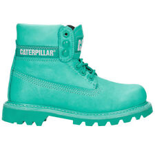 CAT CATERPILLAR Bottines pour Femme Colorado Brights Vert Bottes en cuir