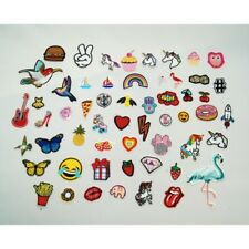 Budget Assorted Fun Miscellaneous Iron On Motifs Applique Patch Craft