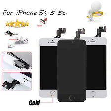 For IPhone 5s 5c 5 5s Screen Digitizer Replacement LCD Touch Display Home Button