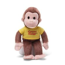 Gund Curious George Yellow Shirt Plush New In Package 8 Inches Tall
