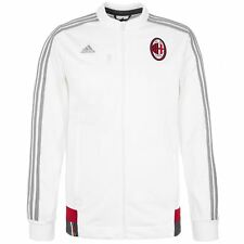 adidas AC MILAN ANTHEM WHITE CLIMALITE MEN'S FOOTBALL SOCCER CALCIO ITALIA