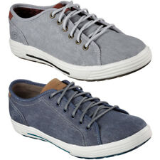 Skechers Mens Porter Meteno Low Profile Textile Canvas Casual Sneakers
