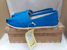 TOMS Classic Cobalt Canvas Ladies Shoes