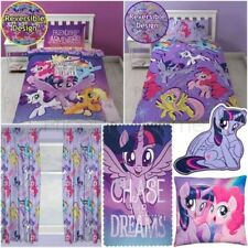 MY LITTLE PONY Film Adventure - Copripiumino set tende Coperta Cuscino tappeto