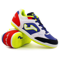 Scarpe calcetto Joma - JUNIOR Top Flex 716 White / Royal Indoor