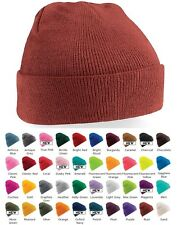 vert rouge rose orange gris brun & plus tricot souple acrylique SKI CHAUD BONNET