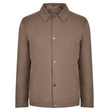 GENUINE Mens DKNY Taupe Mid Length Mac Goose Down Coat Jacket Size RRP £420