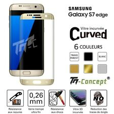 Samsung Galaxy S7 Edge - Vitre de Protection Curved - TM Concept® - Verre trempé