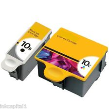1 x Black & 1 x Colour Ink Cartridges Non-OEM Alternative For Kodak Series 10