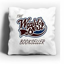 The Worlds Best Bookseller Cushion