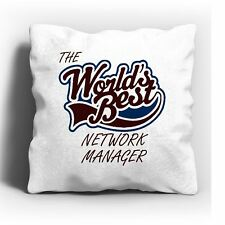 The Worlds Best Network Manager Cushion