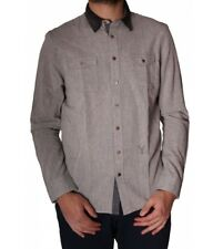 CHEMISE PEARLY KING RELIC GRIS HOMME