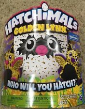 HATCHIMALS-GOLDEN LYNX /WALMART EXCLUSIVE In Hand/Ready To Ship FACTORY/SEALED!!