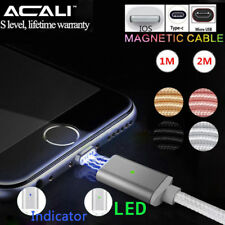 ACALI 1/2M 3/6FT Magnetico Micro USB Tipo C IOS Cavo Trasmissione Caricabatterie