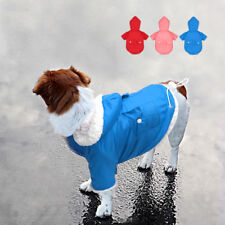 Winter Warm Dog Coats Chihuahua Clothes Jacket Pet Puppy Fleece Padded Hoodie
