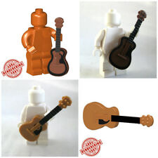 Custom ACOUSTIC GUITAR Instrument for Custom Minifigures -Pick Your Style!-