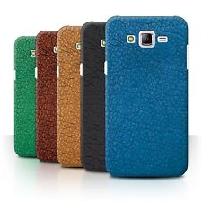 STUFF4 Phone Case/Back Cover for Samsung Galaxy J7/J700 /Leather Patch Effect