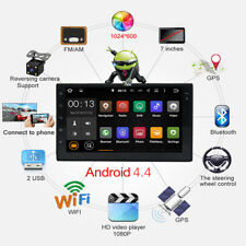 2 Din Car MP5 Player 6.6'' Touch Screen Radio Audio Stereo Bluetooth +Camera KG
