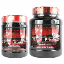 Scitec Nutrition Hot Blood 3.0 Pre-Workout Creatine AAKG Amino Acids 300g 820g