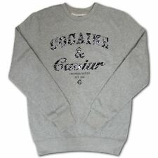 Crooks & Castles Cocaine & Caviar Paisley Sweatshirt Heather