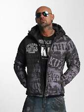 Yakuza Uomini Giacche / Giacca invernale Allover Label Quilted