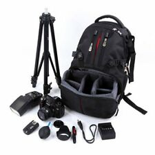 Camera Bag SLR DSLR Case Backpack Water-Resistant For Canon Sony Nikon BU