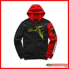Alpinestars Felpa Gp plus Fleece Nero Rosso