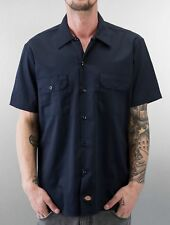 Dickies Uomini Maglieria / Camicia Short Sleeve Slim Work