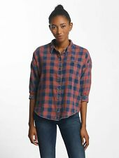 Only Donne Maglieria / Camicia/Blusa onlElif 3/4 Sleeve Check Denim