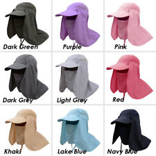 New Unisex Outdoor Fishing Cap Sport Hiking UV Protection Neck Face Flap Sun Hat