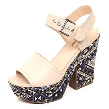 D2384 sandalo donna beige GUESS scarpe shoe woman