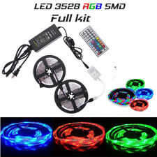10m 600led SMD 3528 RGB TIRA DE LUCES LED + 44 Llave IR + 12v 5a