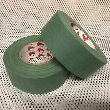 NEW BRITISH ARMY SURPLUS GREEN & TAN CLOTH SNIPER TAPE 50mm x 50m SCAPA,GHILLIE