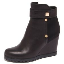 1617Q tronchetto donna S BY SANTINI nero shoe boot woman WITHOUT BOX