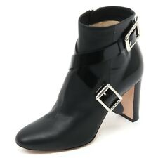 B7048 tronchetto donna JIMMY CHOO DEE 85 scarpa nero shoe boot woman