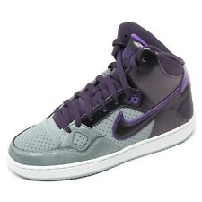 C2838 sneaker donna NIKE SON OF FORCE MID scarpa viola/grigio shoe woman