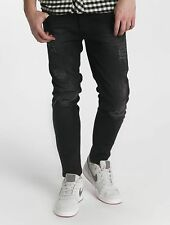 Just Rhyse Uomini Jeans / Jeans straight fit Destroyed