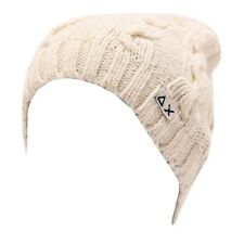 5189T cuffia bimbo SUN 68 wool/cashmere white hat kid boy