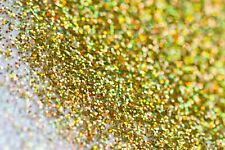 Gold Holographic Fine Glitter for Nails - Face - Body - Make-up