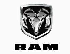Dodge RAM truck car emblem logo vector vectorized print poster high quality